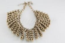 ee4f231735 47b Fém gyöngyös nyaklánc - arany